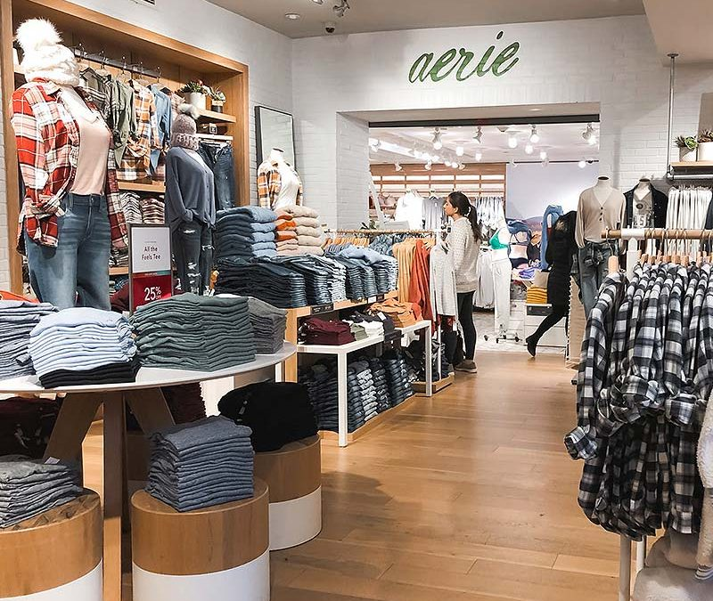 Brick and mortar, and the future of fashion – American Eagle's vision
