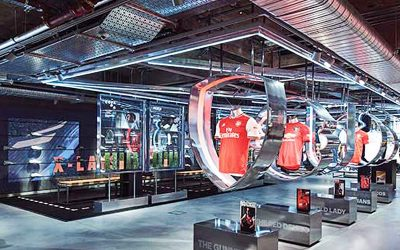 The blending of physical and digital, Adidas and Razer reinvent physical store experience