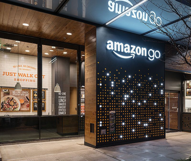 Amazon continues to dabble in physical retail with new inventions and infrastructure