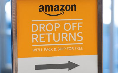 Amazon in-store return kiosks benefit brick-and-mortar retail