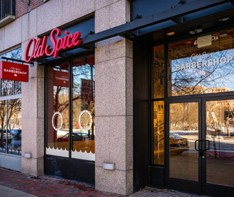 Old Spice to open first-ever barbershop with digital studio and retail store