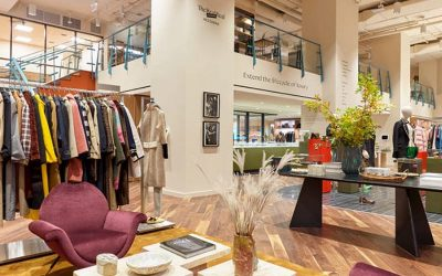 Physical sales play a major role in high-end resale retail, with a positive sentiment towards brick and mortar