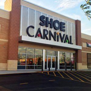 Now fully open, Shoe Carnival