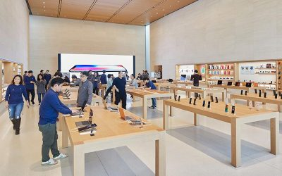 Apple Inc. plans to expand retail operations, new brick-and-mortar concept, bets on physical stores