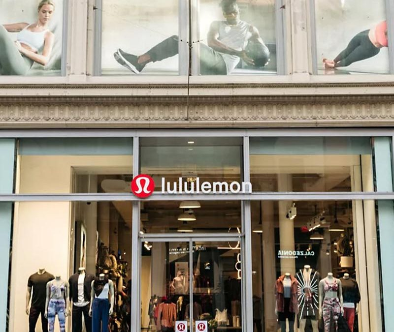 Lululemon Athletica Inc. reports Q1, Revenue up 88% to $1.2 billion, strong rebound in brick and mortar stores.