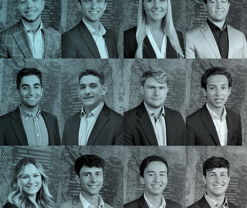 [PRESS RELEASE] Spinoso Real Estate Group Welcomes its Class of 2021 Summer Interns, more than doubling last year's positions