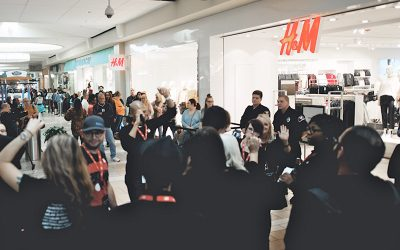 H&M Grand Opening at Genesee Valley Center