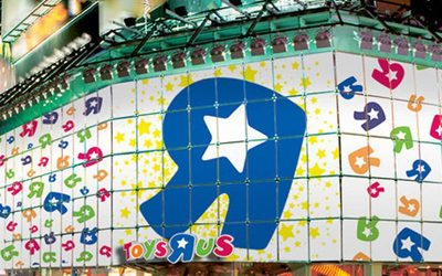 Toys R Us makes a rebound in brick-and-mortar retail