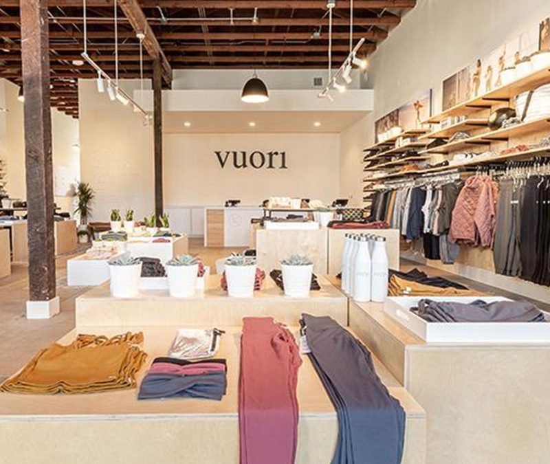DTC brand Vuori plans to open 100 more brick-and-mortar stores with $400 million in funding